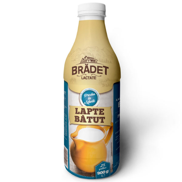 Lapte Batut 900g, 2% grasime